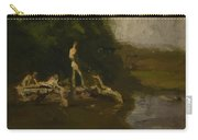 Swimming Hole Sketch Carry-all Pouch