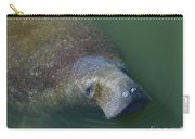Swimming Manatee Carry-all Pouch