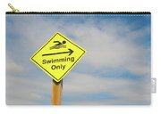 Swimming Sign Carry-all Pouch