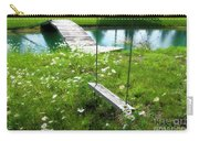 Swing In The Daisies With Bridge Carry-all Pouch