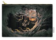 Swinging Through The Forest By Moonlight Carry-all Pouch