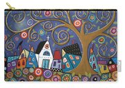 Swirl Tree Village Carry-all Pouch