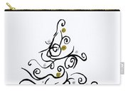 Swirled Tree Carry-all Pouch