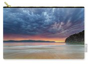 Swirling Cloudy Sunrise Seascape Carry-all Pouch