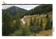 Swirling Mountain Road Carry-all Pouch