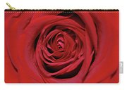 Swirling Red Silk Carry-all Pouch