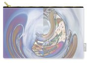 Swirling Rose Carry-all Pouch