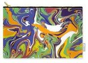Swirls Drip Art Carry-all Pouch