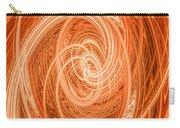 Swirls Of Orange Carry-all Pouch