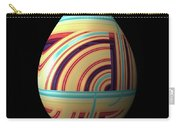 Swirly Easter Egg Carry-all Pouch