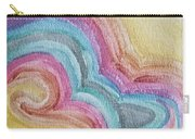 Swirly Rainbow Carry-all Pouch
