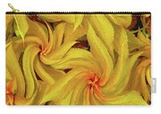 Swirly, Yellow Leaves Carry-all Pouch
