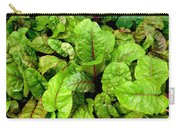 Swiss Chard In A Vegetable Garden 4 Carry-all Pouch