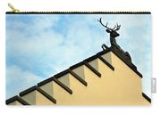 Swiss Deer On Zurich Rooftop Carry-all Pouch