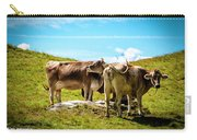 Happy Swiss Cows Carry-all Pouch