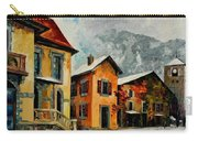 Switzerland - Town In The Alps Carry-all Pouch