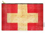Switzerland Flag Carry-all Pouch by Setsiri Silapasuwanchai