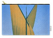 Switzerland, Lake Geneva, Montreux, Sailing Boat Carry-all Pouch