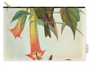Sword Billed Hummingbird Carry-all Pouch
