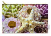 Syarfish And Sea Urchins Carry-all Pouch