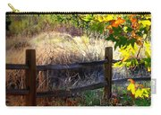 Sycamore Grove Fence 1 Carry-all Pouch