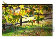 Sycamore Grove Fence 2 Carry-all Pouch