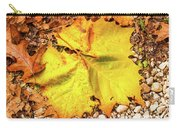 Sycamore Leaf  In Fall Carry-all Pouch
