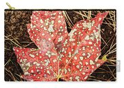 sycamore maple Autumn leaf Carry-all Pouch