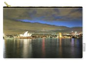 Sydney Harbor At Blue Hour Carry-all Pouch