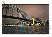 Sydney Harbor Bridge Night View Carry-all Pouch