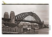 Sydney Harbor Bridge Platinum Carry-all Pouch