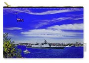 Sydney Harbour And Flying Flag Carry-all Pouch