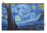 Syfy- Starry Night In Mordor Carry-all Pouch