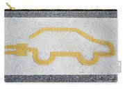 Symbol For Electric Car Carry-all Pouch