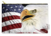 Symbol Of America Carry-all Pouch by Teresa Zieba