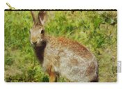 Symbol Of The Rabbit Carry-all Pouch