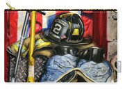 Symbols Of Heroism Carry-all Pouch by Paul Walsh