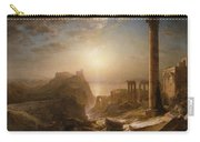 Syria By The Sea Carry-all Pouch by Frederic Edwin Church
