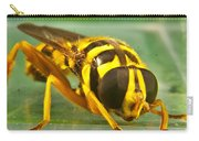 Syrphid Eye To Eye Carry-all Pouch