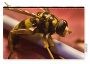 Syrphid Fly Poised Carry-all Pouch