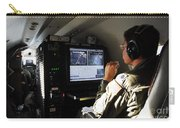System Operator Operates A Console Carry-all Pouch