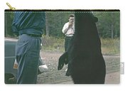 T-203503 Bear Feeding In The Old Days Carry-all Pouch