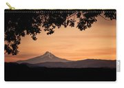 Mt. Hood At Sunset Carry-all Pouch