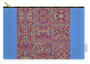 T J O D Mandala Series Puzzle 3 Variations 1-9 Carry-all Pouch