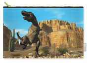 T-rex Carry-all Pouch by Corey Ford