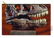 T Rex Skull Carry-all Pouch