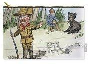 T. Roosevelt: Teddy Bear Carry-all Pouch