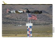 T6 Tango At Reno Air Races Home Pylon Finish Line Carry-all Pouch by John King