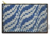 Taaniko Ocean Waves Framed Carry-all Pouch