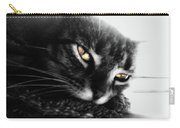 Tabby Cat Selective Color Carry-all Pouch